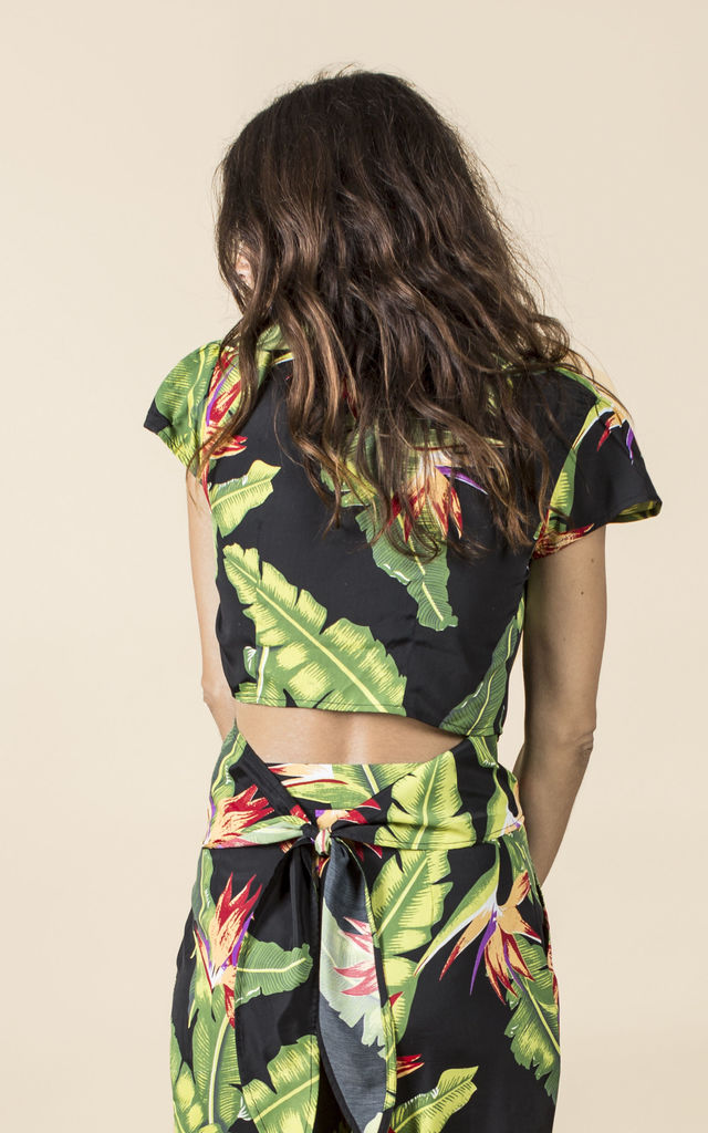 Phoenix Top in Banana Leaf image
