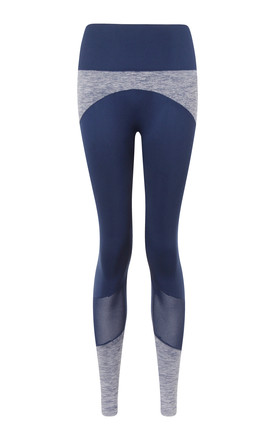 Ilu Navy Dream Spin Leggings by ILU Product photo