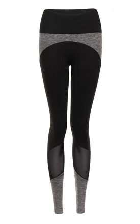 Ilu Black Dream Spin Leggings by ILU Product photo