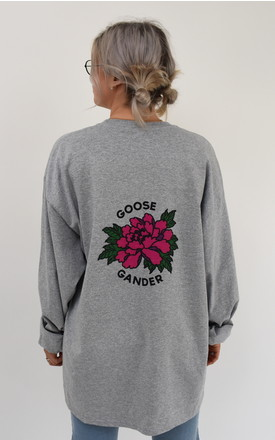 G&G Sg Flower Long Sleeve Tee by Goose & Gander Product photo