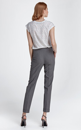 Pants with cuffs - gray by so.Nife