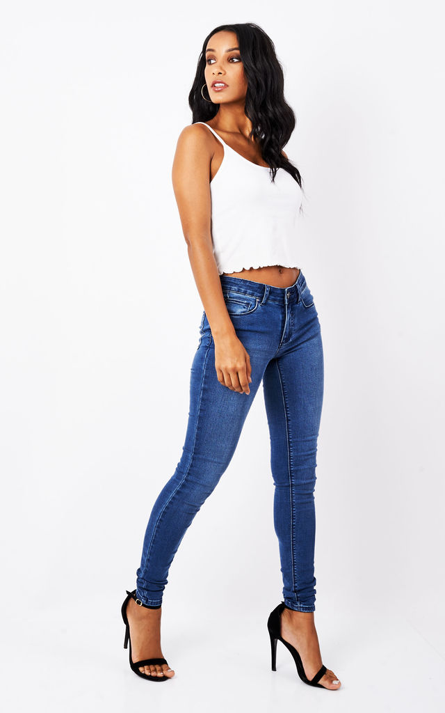 Blue Denim Jeans by VILA