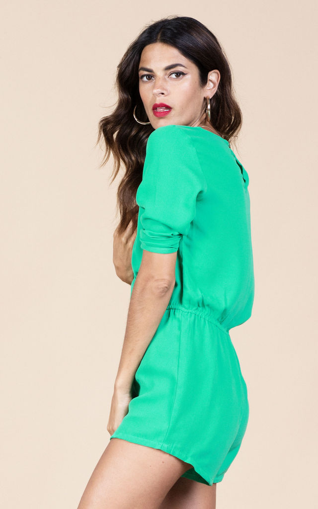 Tiago Playsuit in Summer Green image