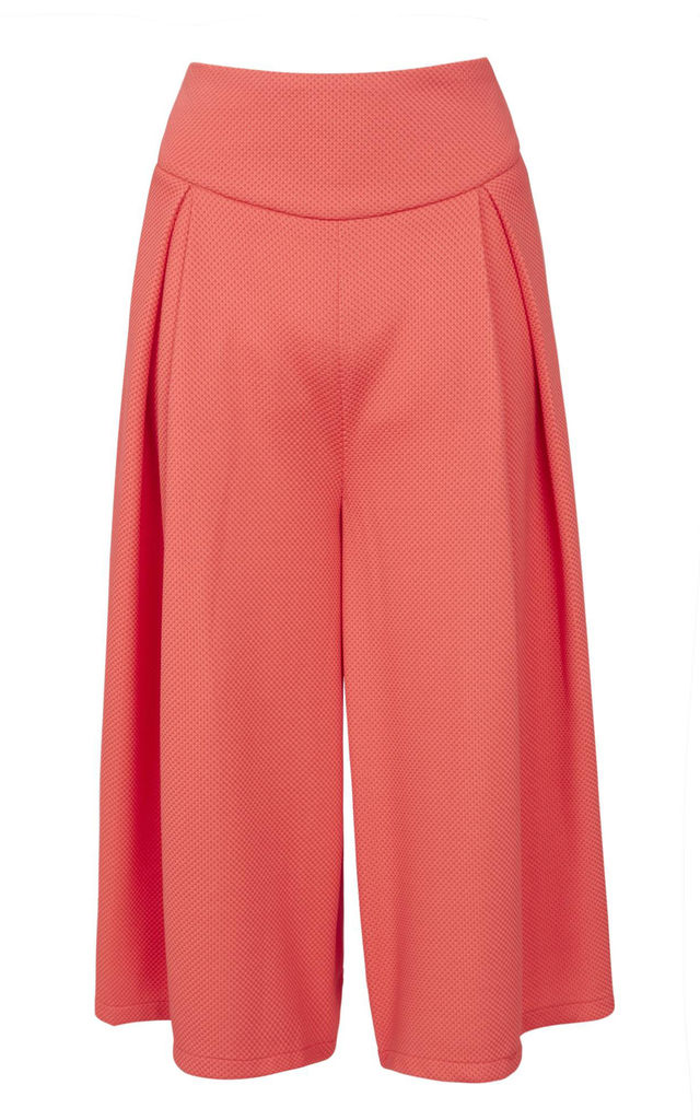 Stretchy Fabric Culottes by Cutie London