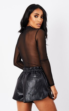 EMBOSSED MESH BODYSUIT by MAIWOOD Boutique