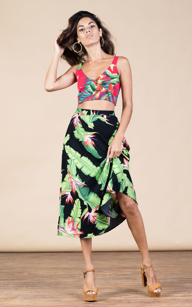 Ariel Skirt in Banana Leaf image