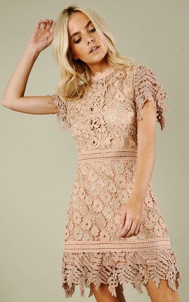 Nude Mini Dress by True Decadence