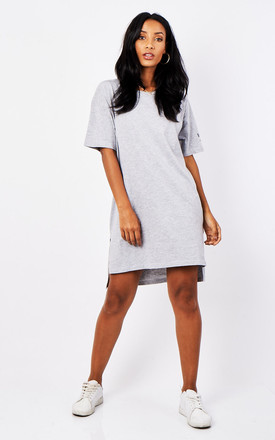 Soulsister Tshirt Dress - Grey by Rock On Ruby