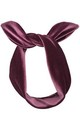 Grape Luxe Velvet Wired Headband by LULU IN THE SKY
