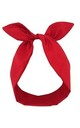 Red Wired Headband by LULU IN THE SKY