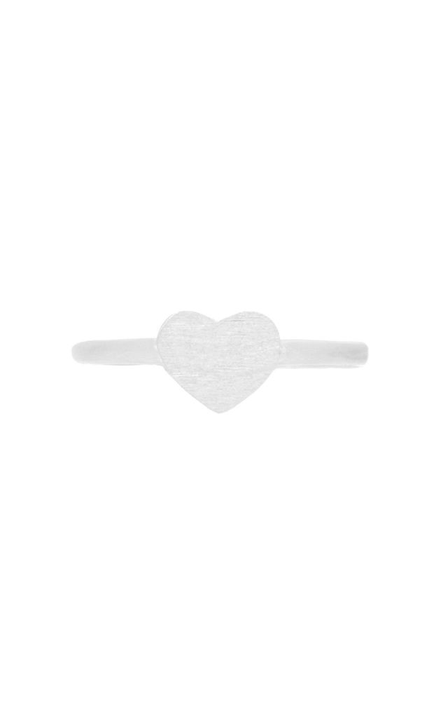 Heart Ring by White Leaf