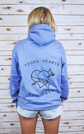 Young Hearts Run Free Hoodie by Rock On Ruby