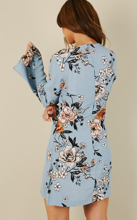 New Romantic flare Sleeve Dress by Mink Pink