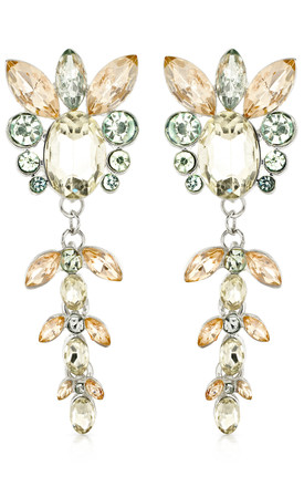Statement Rhinestone Drop Earrings by Johnny Loves Rosie