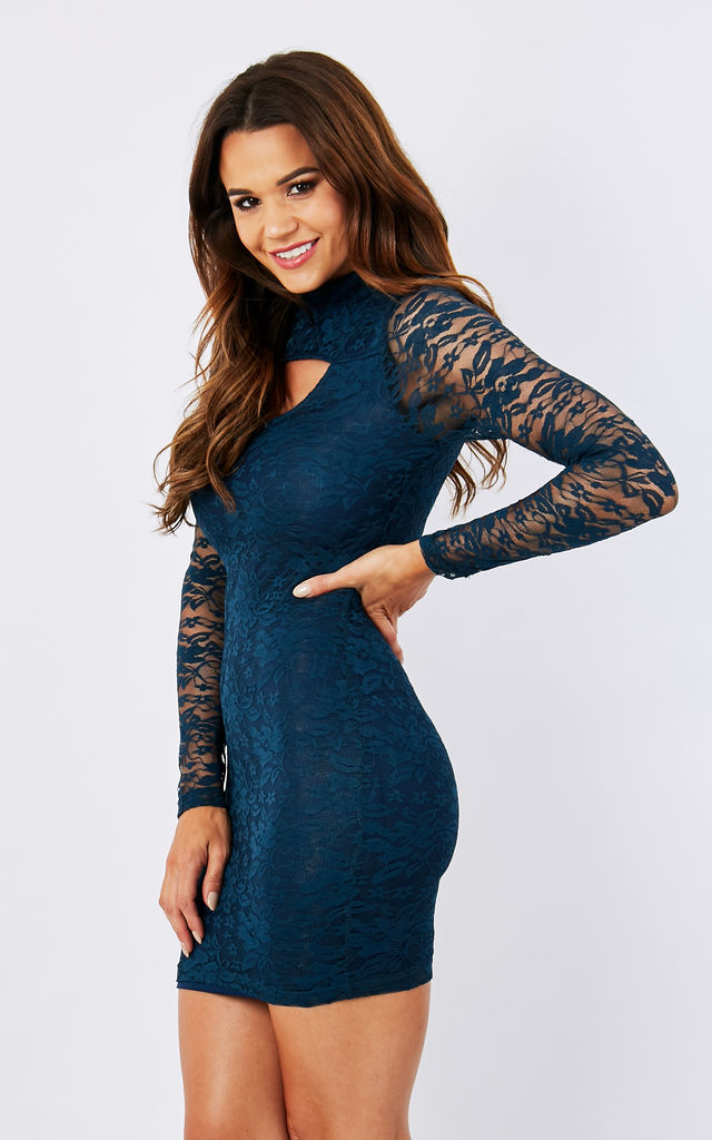 LACE BODYCON DRESS by Madam Rage