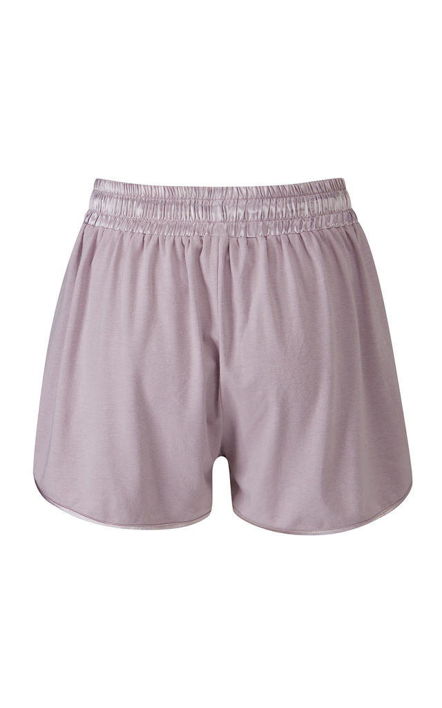 Jazz Shorts Oyster by Pretty You London