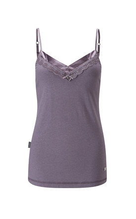 Classic Lace Cami Smokey Pearl by Pretty You London