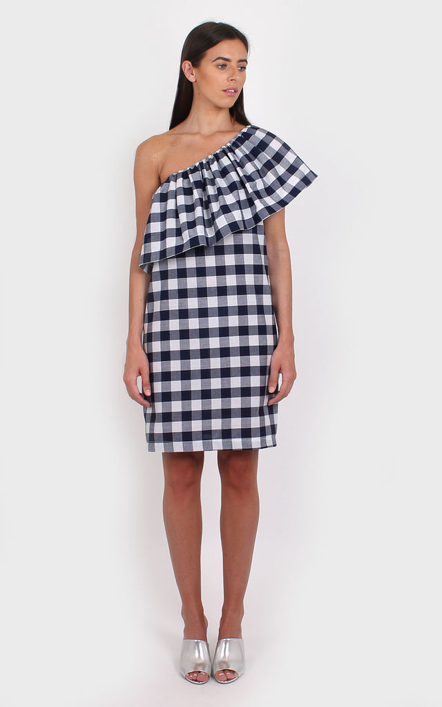 Emily Gingham Dress by Bullet