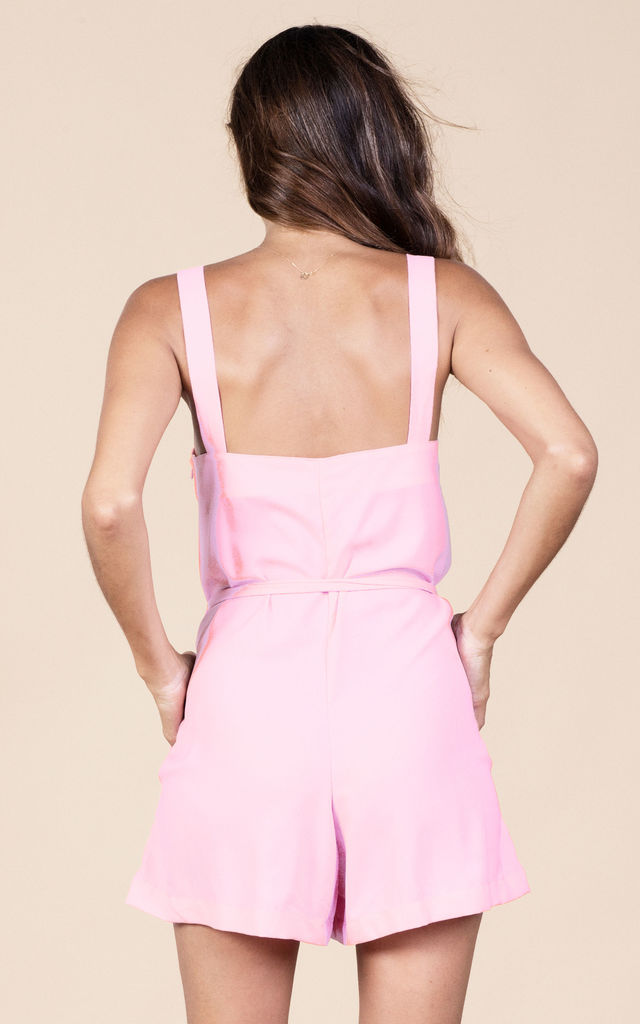 Souza Playsuit in Summer Pink image