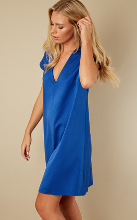 Cobalt Blue shift dress by Bella and Blue