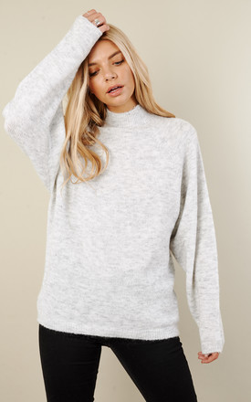 Grey Roll Neck Jumper by VILA