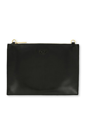 Johnny Loves Rosie Black Lucy Clutch Bag by Johnny Loves Rosie