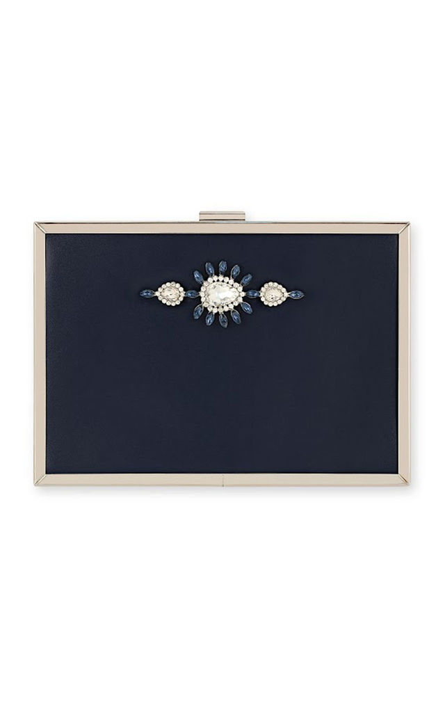Johnny Loves Rosie Bella Navy Occasion Clutch Bag by Johnny Loves Rosie