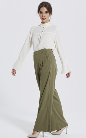 WIDE LEG TROUSERS by Madam Rage