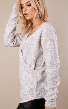 Light Grey Wrap Knit by VILA