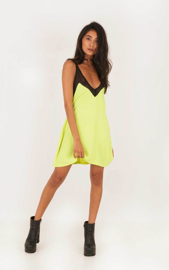 Last Night In Rio Mesh Mini - Lime by Indigo East