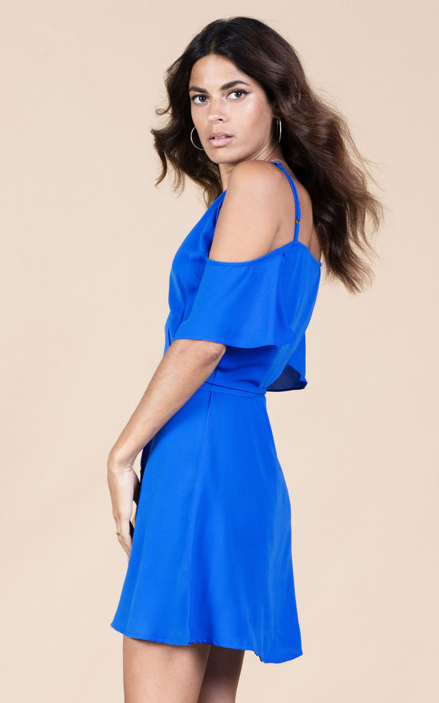 Marlin Dress in Summer Blue image