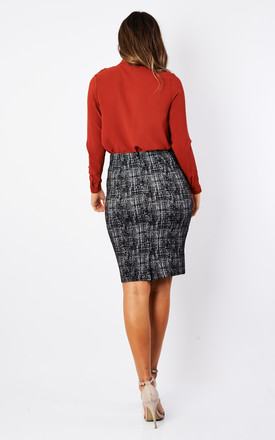 Black Neve Skirt by Fever London