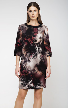 Print Sack Dress by Conquista Fashion