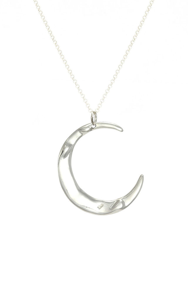 SILVER MEGA LUNE NECKLACE by AVALANCHE JEWELLERY