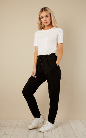 Black Lounge Pant by VILA