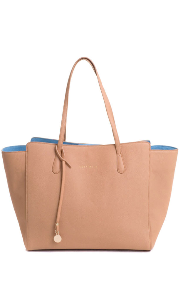 Mae Tote in Tan by C'est Beau Bags