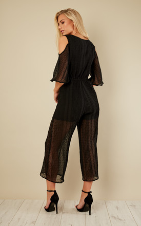 Raphael Cropped Jumpsuit by Mink Pink
