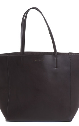 Ivy Shopper in Dark Brown by C'est Beau Bags
