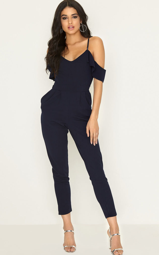 Navy Jumpsuit by Girls On Film