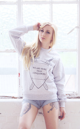 Conquerors Sweater by Chronicles Clothing Product photo