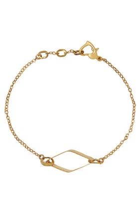 Emily Hexagon bracelet by Leo With Love