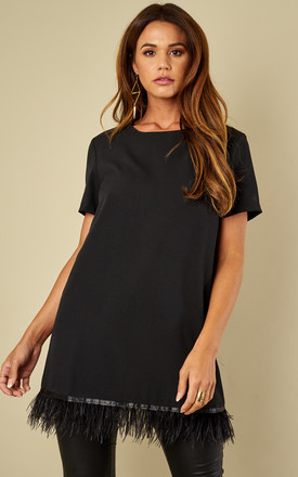 Perfecto Tunic Black by Jovonna London Product photo