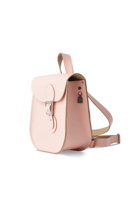 Leather Backpack Chintz Rose by Brit-Stitch