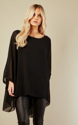 Black Batwing Top by Bella and Blue Product photo
