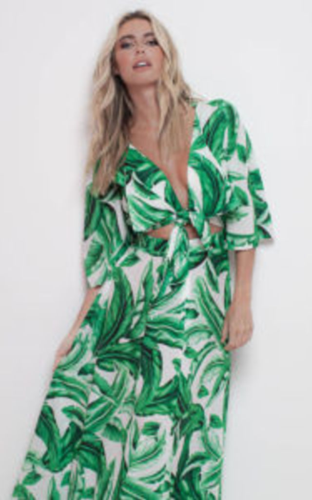 Esme Maxi Palm Perfection by Rebecca Rhoades
