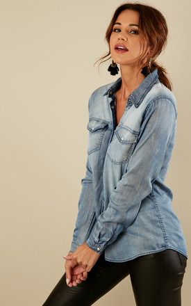Blue Denim Shirt by VILA Product photo