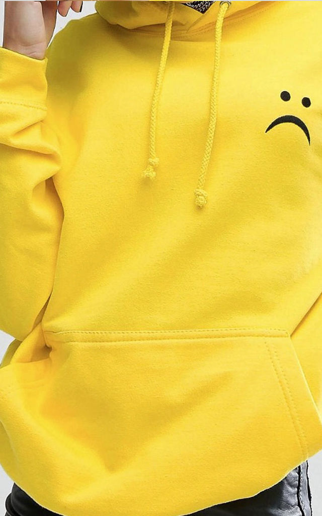 Frown Hoody by Adolescent Clothing