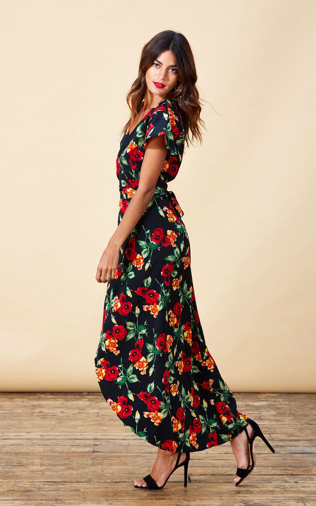 Cayenne Dress in Wild Rose image