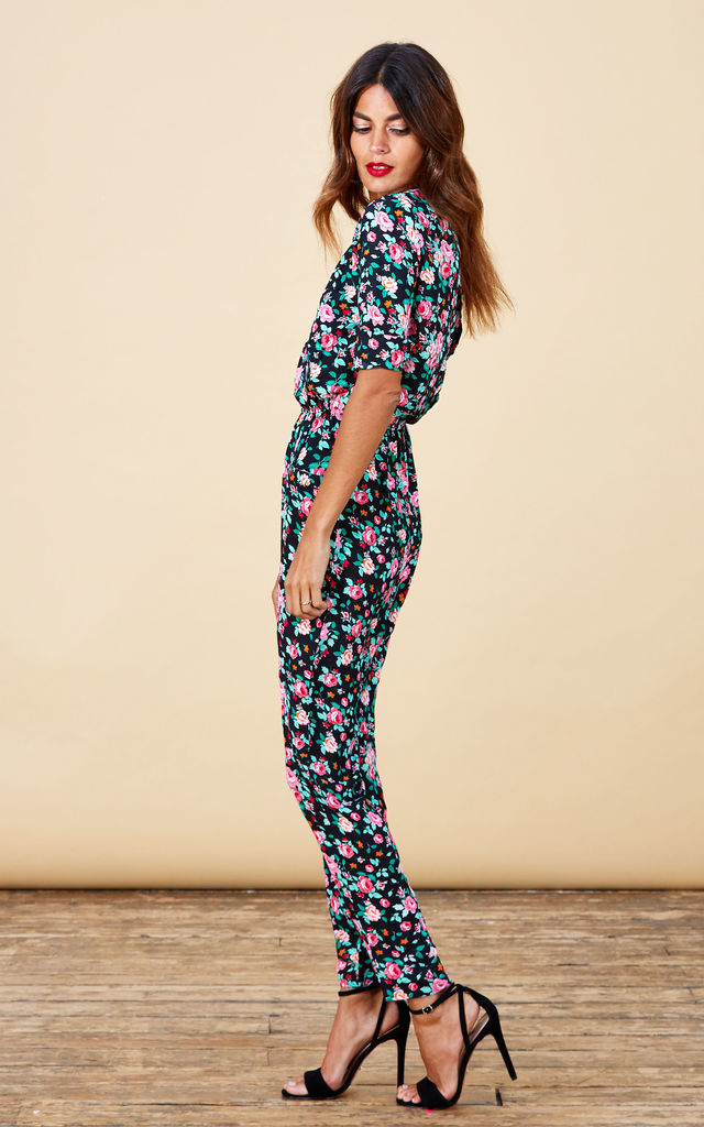 Zion Jumpsuit in Pink Rose Ditzy image