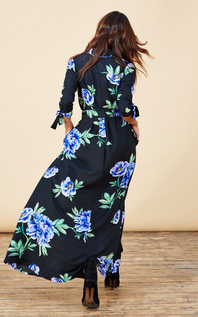 Dove Dress in Blue Peony image